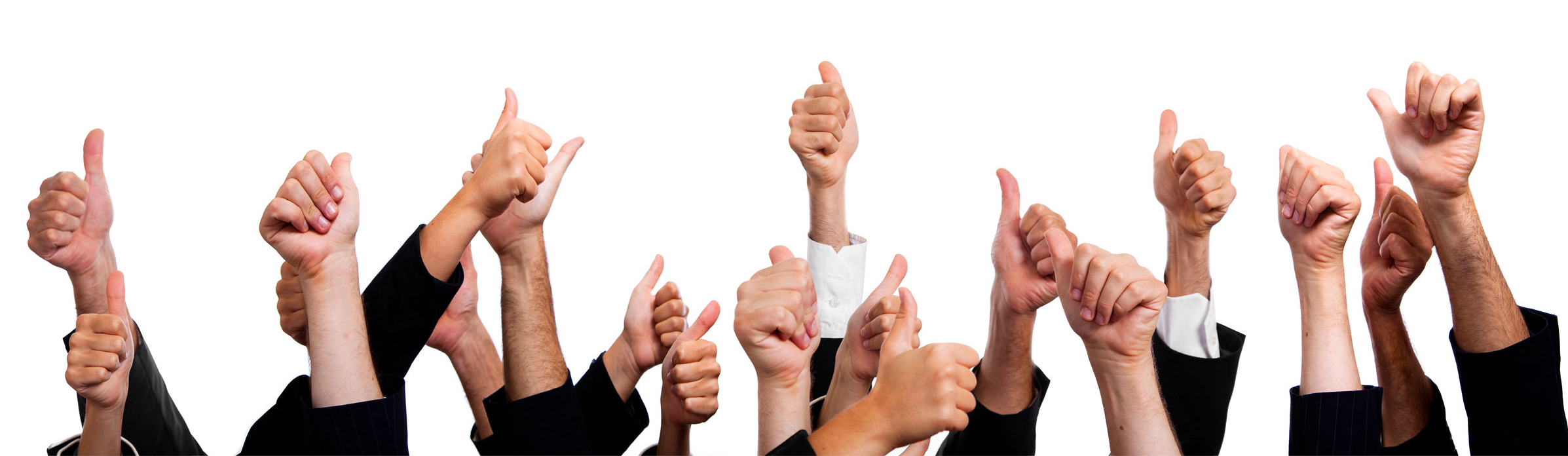 Thumbs up for great testimonials
